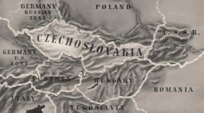 Lo stratagemma della finta frontiera in Cecoslovacchia