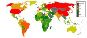 Il numero di volte che ciascuno stato ha fatto parte del Consiglio di Sicurezza