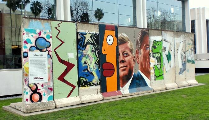 Dove sono finiti i resti del muro di Berlino?