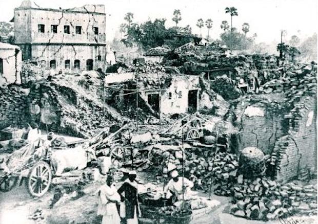 Gli altri terremoti in Nepal, dal Medioevo in poi