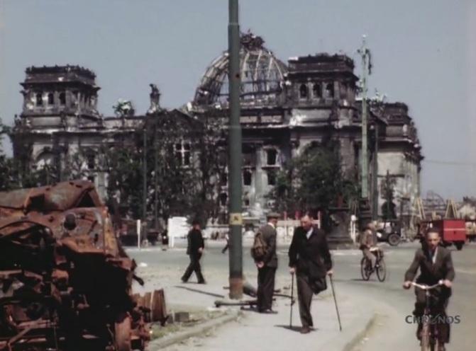 Che aspetto aveva Berlino alla fine della guerra, 70 anni fa