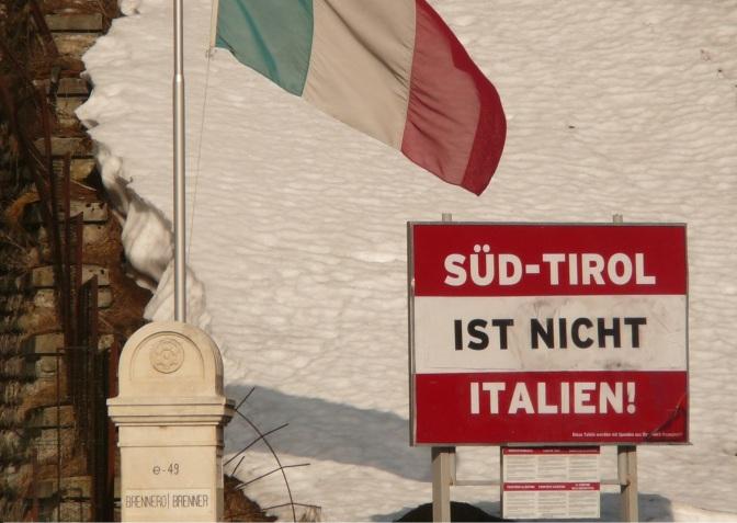 Perché il Südtirol è territorio italiano?