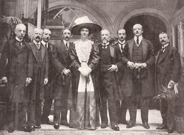 100 anni di foto di diplomatici italiani